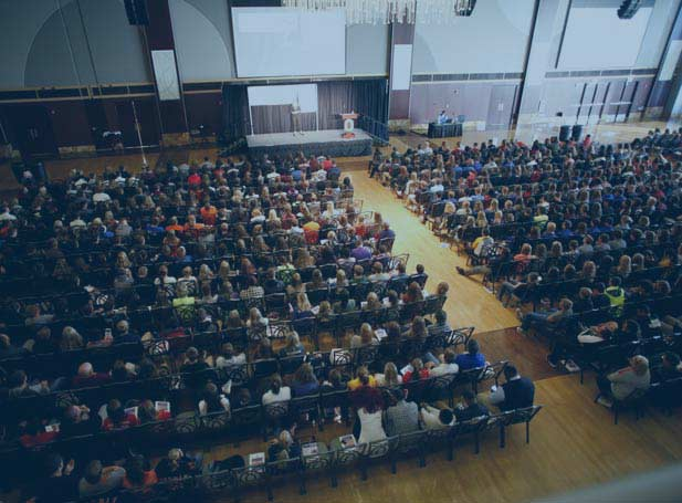 motivational speaker audience